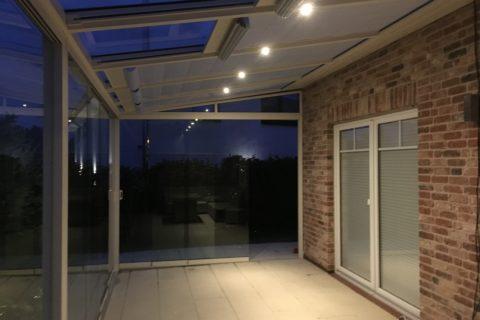 LED bei Nacht